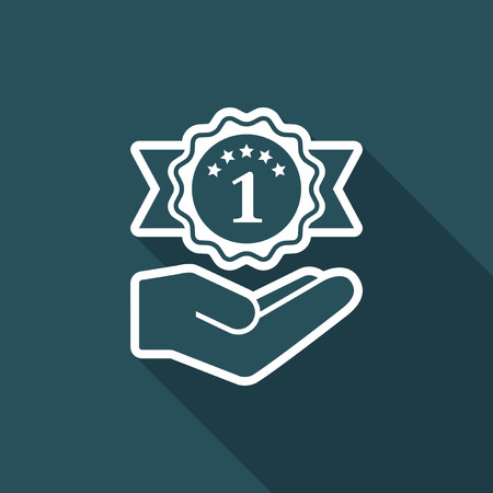 winning proposal: Service offer - Number one - Minimal icon