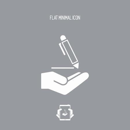 tailored: Pen - Minimal modern icon