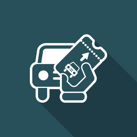 Card car icon