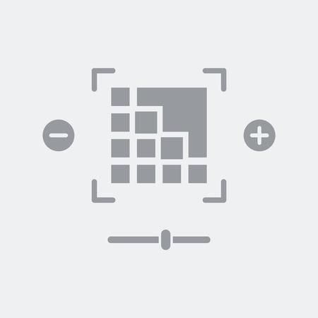 Flat and isolated vector illustration icon with minimal and modern design Vektoros illusztráció