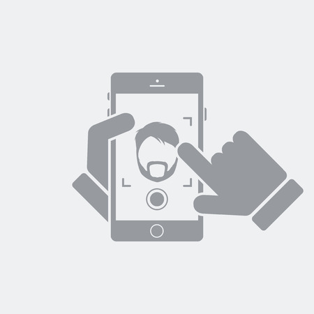 Flat and isolated vector illustration icon with minimal and modern design 向量圖像