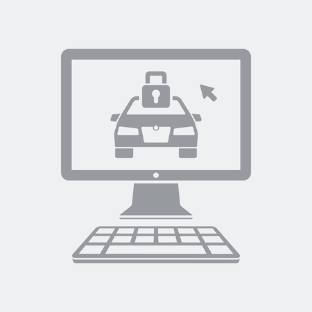 Flat and isolated vector illustration icon with minimal and modern design Standard-Bild - 124786032