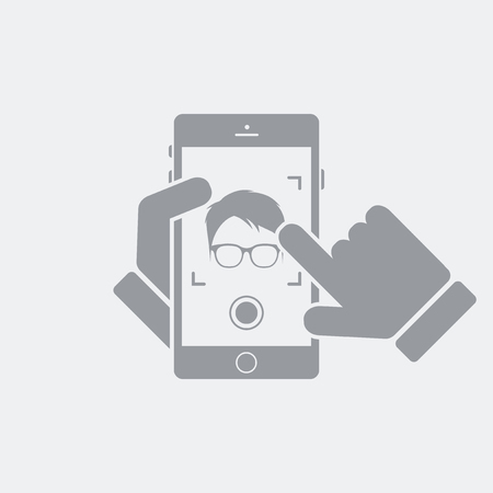 Flat and isolated vector illustration icon with minimal and modern design