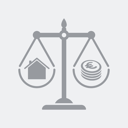 Flat and isolated vector illustration icon with minimal and modern design Ilustrace