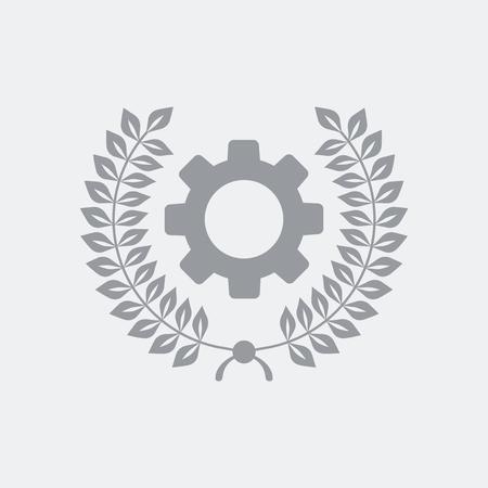 Icône d'illustration vectorielle plat et isolé avec un design minimal et moderne Vecteurs