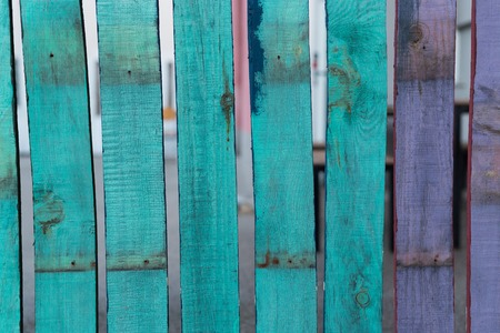 rustic: rustic wooden fence Stock Photo