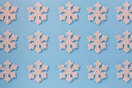 duotone: Duotone seamless winter texture. Winter background. Christmas template.