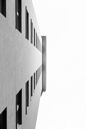 x marks the spot: Urban Geometry, looking up to glass building. Modern architecture black and white, glass and steel. X marks the spot. Abstract architectural design. Inspirational, artistic imageUrban Geometry, looking up to glass building. Modern architecture black and w