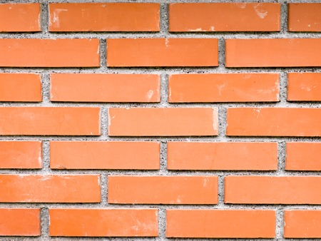 different way: Brick presented on a different way, abstract brick wall, colors
