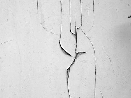 splintered: Cracked concrete texture closeup background.