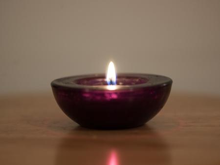 luz de velas: velas aisladas