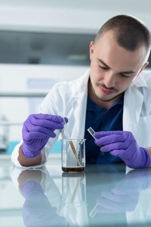 chemist: Chemist at work