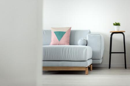 Minimal appartment design details Stockfoto