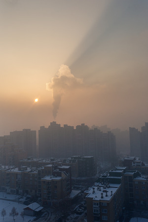 Emission of the air
