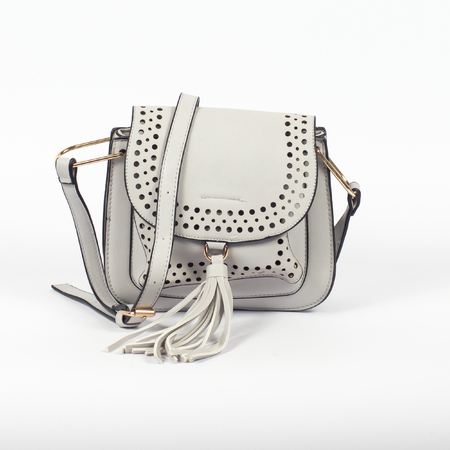 Female bag isolated over white