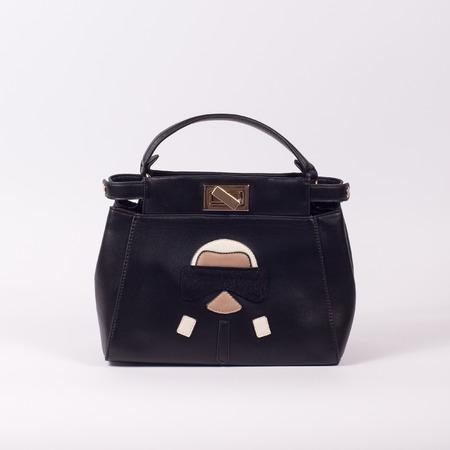 Handbag isolated white background Stock Photo