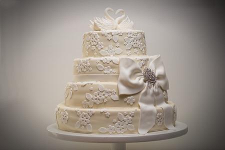 Wedding cake studio shot