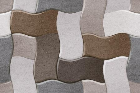 Bricks Floor Tile Texture Stockfoto