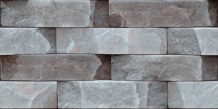 Stone wall elevation for background