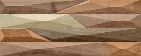 wooden strip wall elevation for background 写真素材