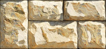 Stone elevation wall tiles for wall art Фото со стока