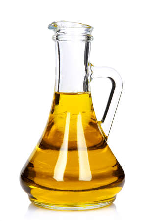 Bottle of pure olive oil.