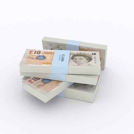british money: Money Stack