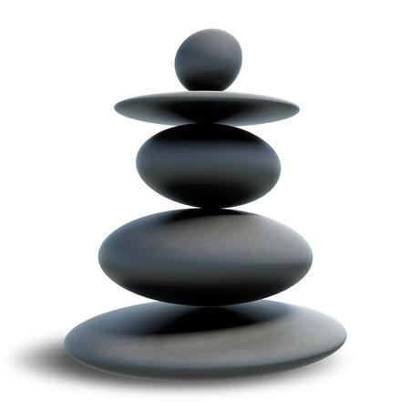 paz interior: Piedras zen