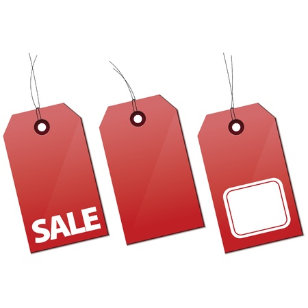 Shopping and Sale tags
