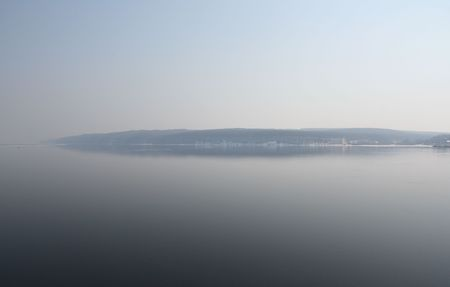 The river Volga is open from ice.