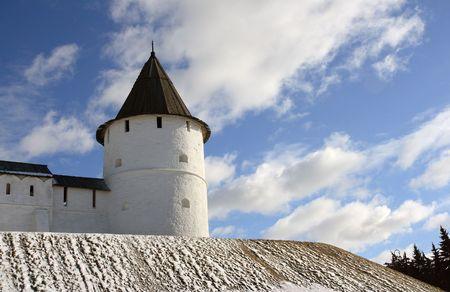 Watchtower of Kazan Kremlin.