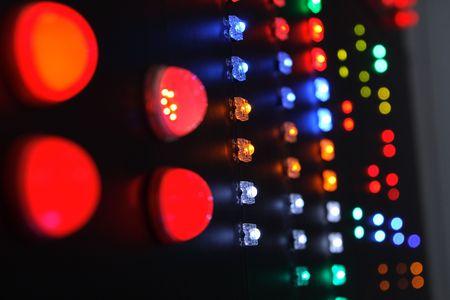 Indicator panel.