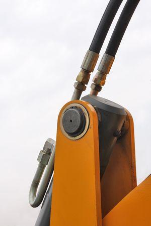 Head of hydraulic plunger.