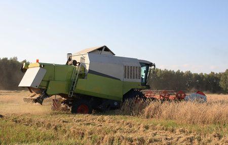 Combine harvester. Stock Photo - 6028563