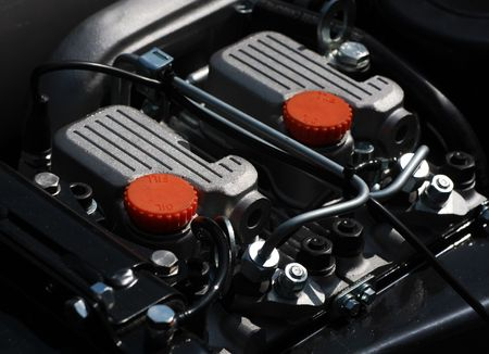 Detail of engine.