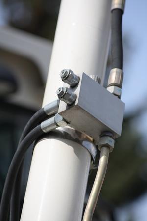 Hydraulic connector box.
