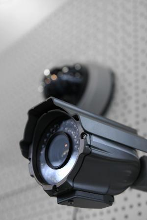 cctv: CCTV c�maras de seguridad. Foto de archivo
