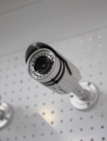 supervision: CCTV security camera.