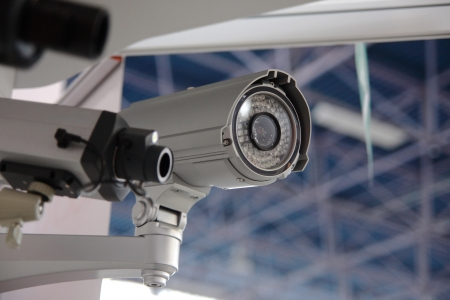 monitoring system: CCTV security cams.