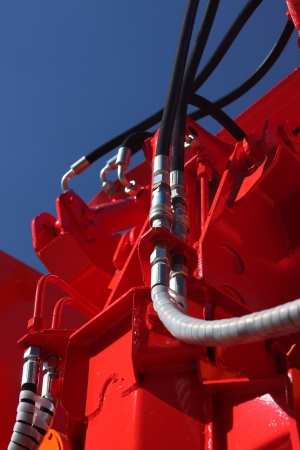Detail of building machinery.