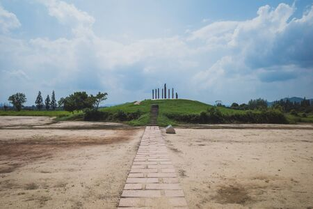 City site at Archaeological Ruins of Liangzhu City, Hangzhou, China