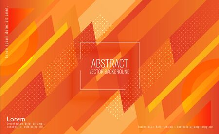 Abstract Modern Taper Rectangular Stacks Background Ilustração