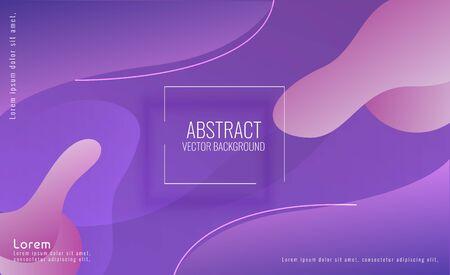 Modern Abstract Fluid Background Stock Illustratie