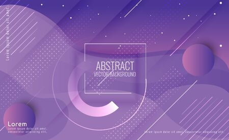 Modern Abstract Space Background