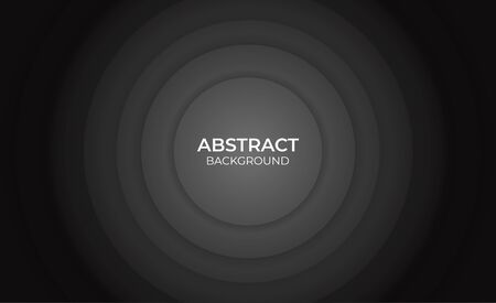 abstract circle geomtric black and white background