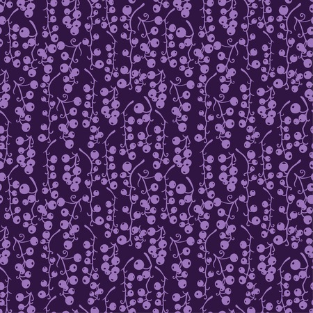 currant: Seamless currant berry pattern background. Illustration