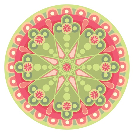 throughout the background of the patterns Vector