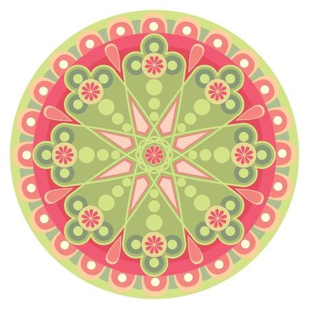 chakra: tout au long du fond des motifs