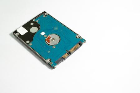 harddisk: Harddisk on white background