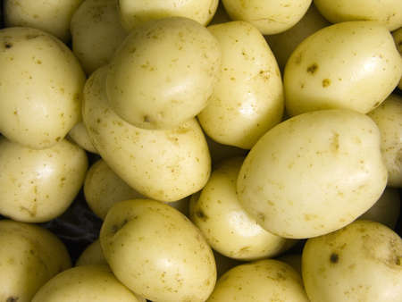 skins: A bowl of new  potatoes in their skins